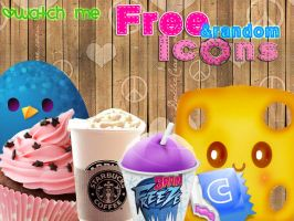 Pack Free and Random Icons by xXSuperPopXx