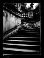 stairs in dresden by blitzopfer