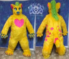 Harley Hyena Fursuit by LobitaWorks