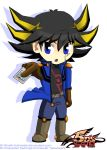 Chibi Yusei Fudo by wrath-fullmetal
