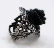 Black Rose Ring-1 by Aranwen