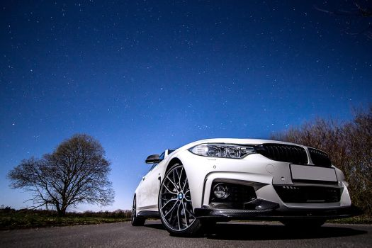 BMW 435i and some stars by FearTheEC