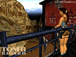 TR 2 Barkhang Monastery by XTombRaiderxx