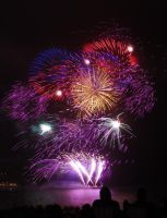 Plymouth Fireworks Two by Phesarnion