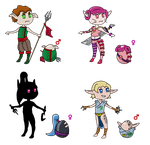 Eggs with Little elven warriors (50pt) [open 1/4] by TinkyTwinky