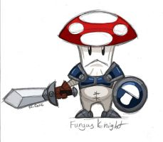 Fungus Knight by rongs1234