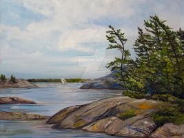 Parry Sound Peace by Schnellart