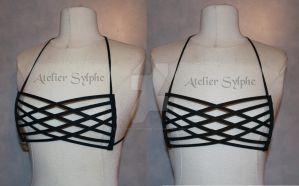Breast cage breastplate by AtelierSylpheCorsets