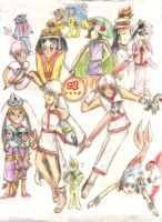 Okami group by Pixiescout