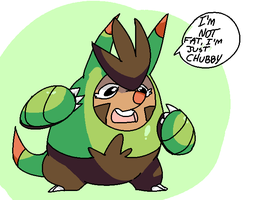 Chespin Evo by MareckiRAWR