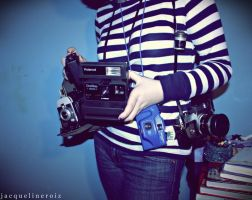 Cameras. by messofmemoriesxX