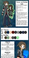 [OC] Trevon and Brother Soler Reference Sheet by rcKEY