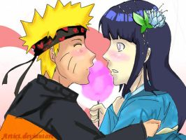 NH- Be my valentine, Hinata by Artict