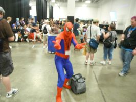 Spider-Man at BronyCon 2012 by DestinyDecade