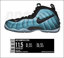 "Air Foamposite Pro ""Retro"" by BBoyKai91"