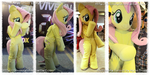 Fluttershy fursuit by lemonkylie
