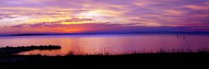 Salamander Bay Sunset by Squiddgee7734