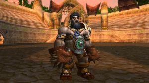 Dwarf Monk by SpiderDemon