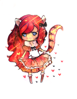 Red Panda Adoptable (SOLD) by mochatchi