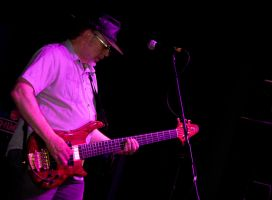 Bassist Doug Long of the After Hours Blues Band I by DundeePhotographics