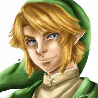 Speed Painting - Link by ChelseaFavre