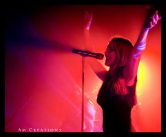 Simone Simons. Live Norway 22 by AmCreationss