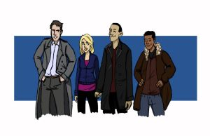 TEAM TARDIS by PauPaufg