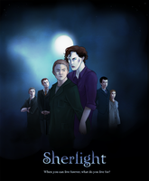 Sherlight - Movie Poster by Rosaka-Chan