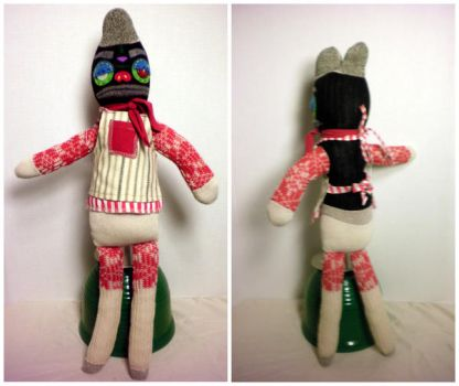Andy the sock creature by electricnomad