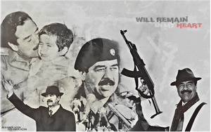 Saddam Hussein in my heart by HZON