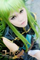 Code Geass: C.C, Top View by juz-icee