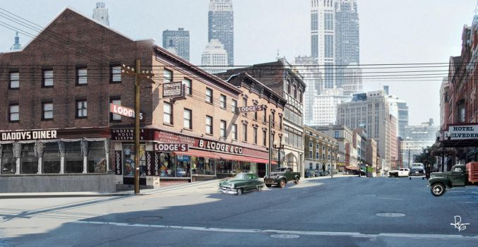 New York Matte Painting 1946 by RockhopperVFX