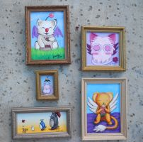 All Fanime Pictures Framed by dragondoodle