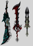 flash weapons by DageThe3vil
