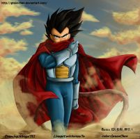 Vegeta_Color by GreenChen
