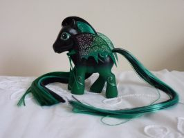 custom my little pony darker magic 3 by thebluemaiden