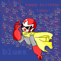 Happy Birthday Tabby by Izumichan