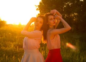 ZGF's photoshoot at sunset by panna-poziomka