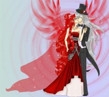 Undertaker x Grell. Wedding by Againa
