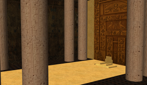 Egypt Throne Room by MMDLowdisan