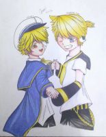 Request 3: Oliver n Kagamine Len by OoYukioONanaDeanB