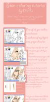 SAI skin coloring tutorial by drathe