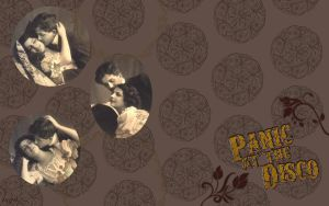 Panic! At The Disco wallpaper. by dntTrustAho