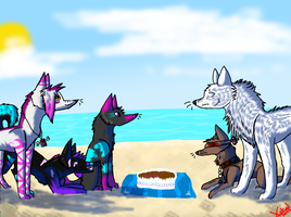 You are party pooper!!!!! by Xithyd-Thorns