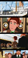Arriving at Titanic by kingpin1055