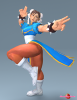 Chun Li by Strawberry-Pink05