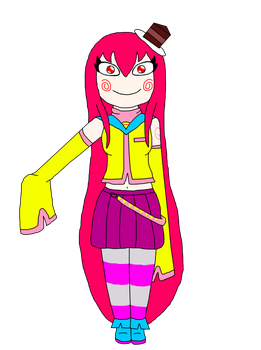 Trickster Tei (Redesigned) by Ask-Tei-the-Yandere