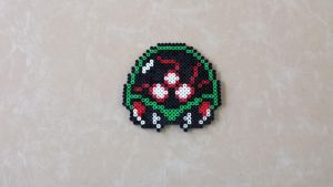 Metroid - Perler Bead Sprite by MaddogsCreations