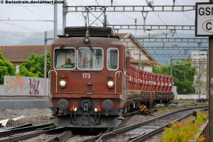 BLS Re 425 173 by SwissTrain