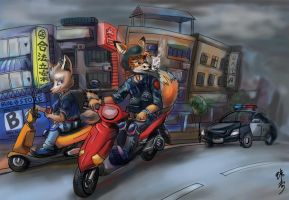 Run the city by jian-dogs